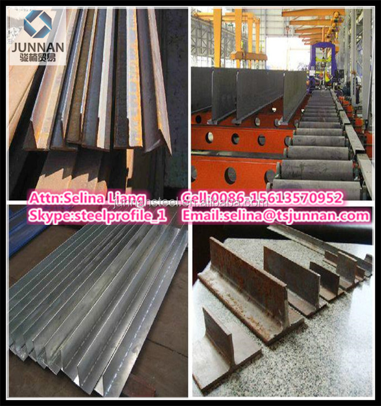 China supplier Section steel T-shaped bar A36/ SS400/S235JR/Q235 net weight price