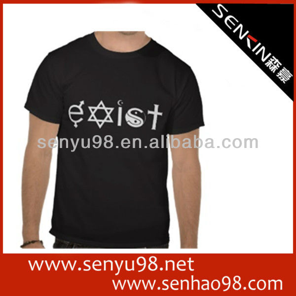 wholesale tshirt custom made clothing manufacturers in guangzhou OEM