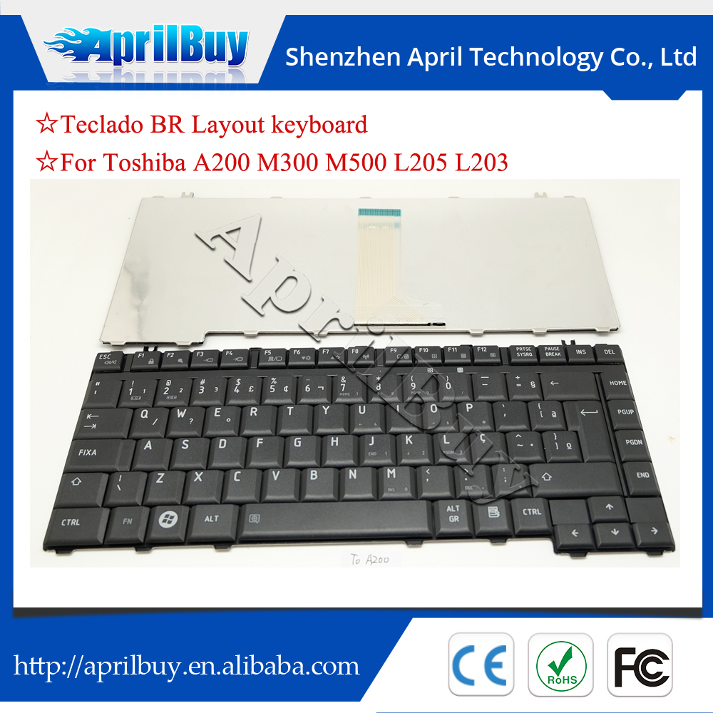 Laptop keyboard for Toshiba portege M300 A200