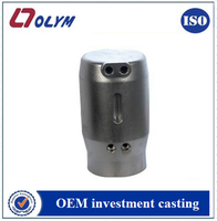 Customized cnc camara housing precision casting stainless steel