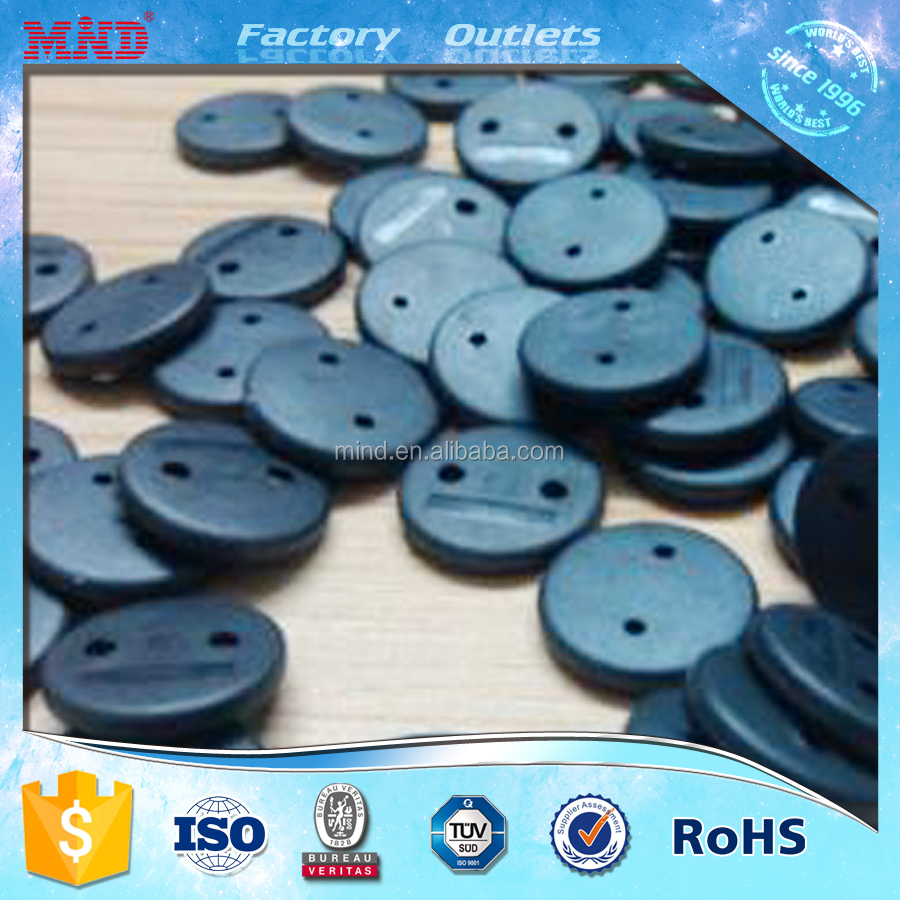 MDLT5 HQ waterproof printed rfid laundry plastic tag for laundry chain