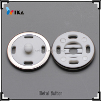Wheel shape garment plastic snap on button cover