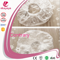 China dustproof bouffant doctor colour head disposable shower cap use for hospital