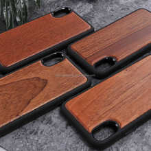 Wooden Case for Apple iPhone 8 Natural Wood With Durable Plastic Edges cover for iPhone 8