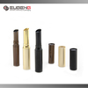 Gold cap painting aluminium lipstick packaging tube