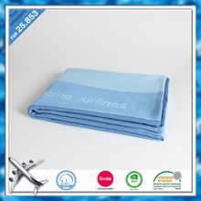 China ShaoXing new product cheap wholesale printed blankets branded best airline blanket