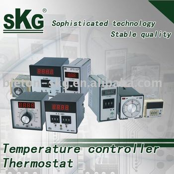 electronic temperature controller and analog temperature controller