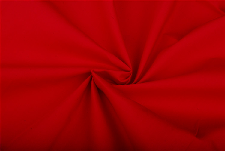 100X50 Red Polyester Vietnam Cotton Fabric