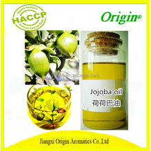 HACCP Certified Manufacturer Supply Herbal Extract Jojoba Oil For Skin And Hairs