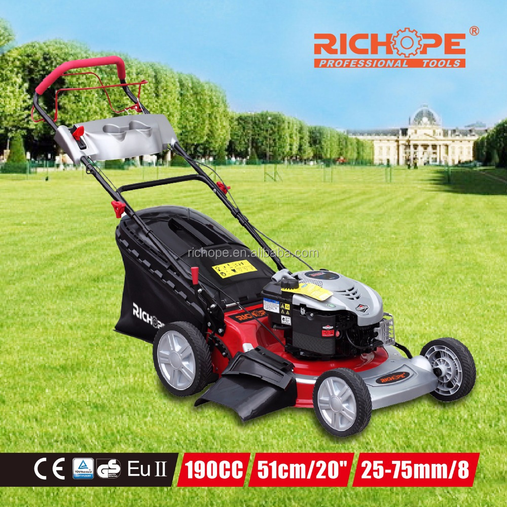 manufacturer with rotary 4wd tractor robot ride on self-propelled or hand push lawn mower