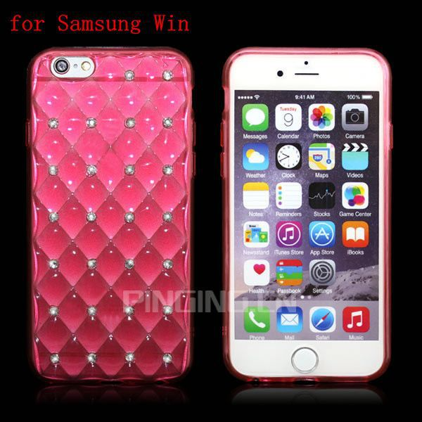 Good quality for Samsung Galaxy Win fashion shiny crystal tpu case