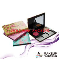 Innovative customized paper cosmetic packaging boxes for eyeshadow