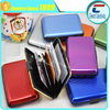 Custom Business Aluminum ID Credit Card Wallet Case Holder Metal Box Pocket