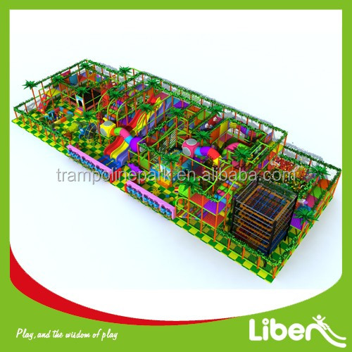 Attractive kids commercial new style indoor amusement playground with Ball Pool