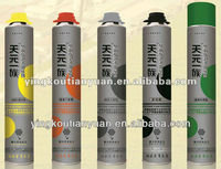 supply Expanding PU foam Sealant/adhesive spray gue for construction