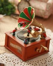 Small Christmas Paper Musical Box
