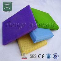 acoustic fabric panel fabric facing fiberglass soft roll