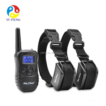 Petrainer Extra Receiver Collar for 300 Yards Remote Training E-collar PET998DR Rechargeable and Rainproof pet training collar