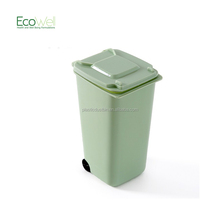 Office Suppliers Desktop Trash Can Pen Holders