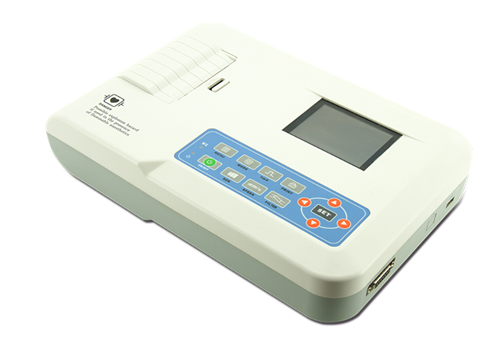 CE approved Dispaly Digital 3 Channels ECG
