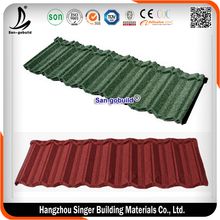 Wholesale Kerala Lowes Stone Coated Steel Sheet Price Ghana Roofing tile for Luxury Villas