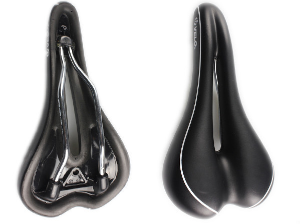 China Hot Selling VL-1261 HoneyComb Gel BMX Black Bicycle Saddle