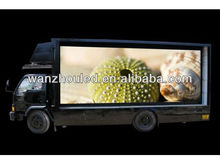 Gold supplier mobile truck/trailer/car outdoor advertising led display screen