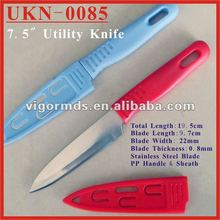 "(UKN-0085) 7.5"" Forever Sharp Blade Utility Peeling Fruit Knives"