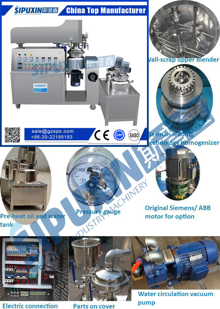 buy direct from china wholesale emulsifier mixer
