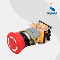 LAY50-22D/T Saipwell High Quality Two-Position self-locking push button with light/ Key Pushbutton