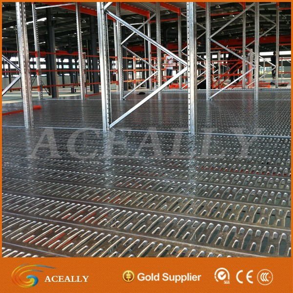 For Warehouse use steel floor mezzanine grating