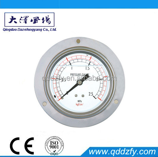 Bar/Mpa pressure gauges