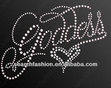 iron-on goddess heart DIY hot fix motif rhinestone template