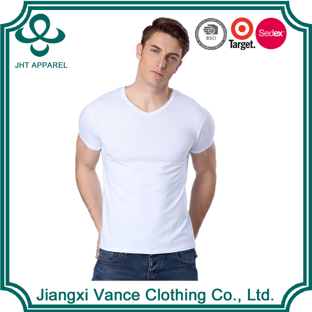 round neck fitted men clothing hot basic dry fit plain no brand white 95 cotton /5 elastane oversized man custom blank t-shirt