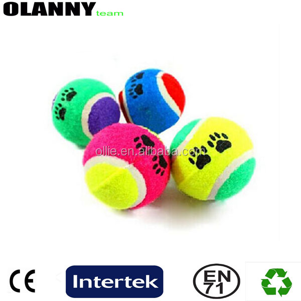 factory price colorful high quality standard best supplier tennis ball