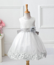 baby christening gowns elegant lace evening dresses long children frock design for 2 to 6 years old girls