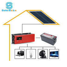 solar panel system home 5KW off-grid solar power system 5000watt for home