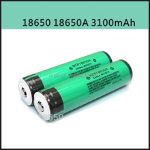 promotion small size 18*65 mm battery 18650A 3100mah 3.7V high quality 18650 Li Ion Battery Cell