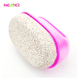 Oval Natural Pumice Stone with plastic handle for foot cleaning