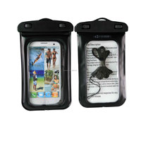 Cell Phone waterproof pouch for samsung galaxy s4 mini