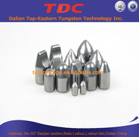 surface miner cutting tools carbide buttons