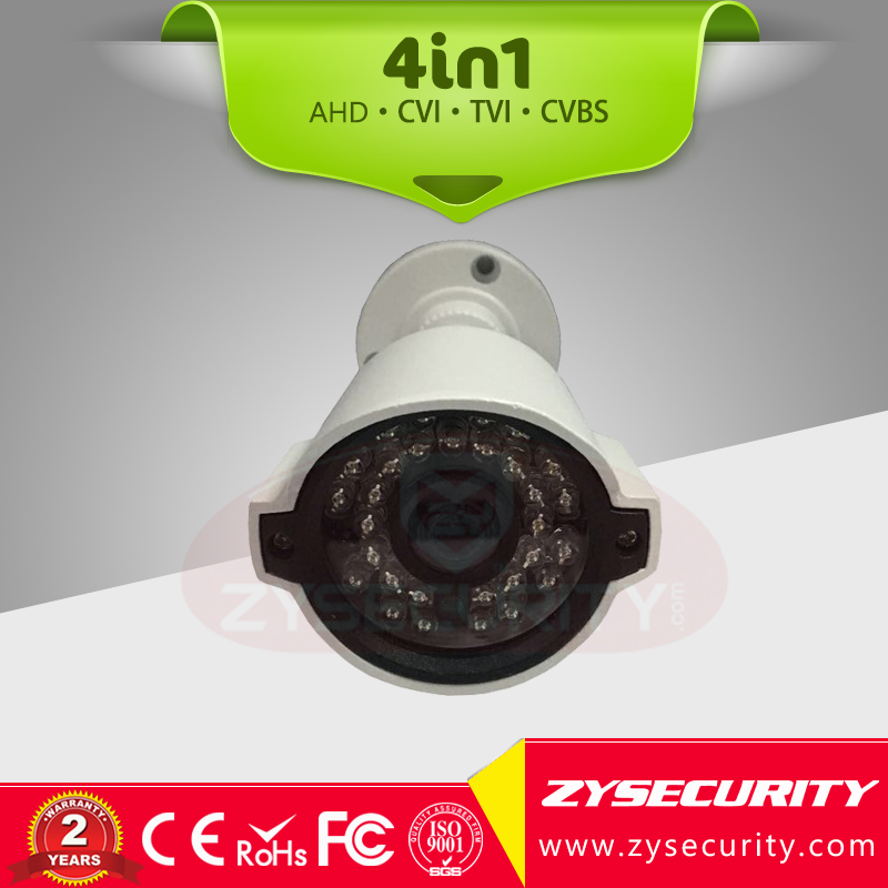 Mini Bullet 4in1 hybrid outdoor camera,1080P resolution Support OSD UTC Low Lux 30m IR distance HD CCTV camera