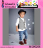 2016 made in China hot sale long sleeve newborn clothes spring latest cheaper kids clothes 3 pieces sets