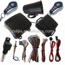 Auto alarm security system,Compact Car Alarm System from 15 years maker with ISO9001
