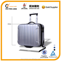 2014 laptop luggage,PC+ABS computer luggage case,trolley laptop suitcase