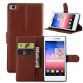 Modern hot selling flip leather cover case for huawei p8