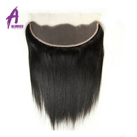 Factory vendor low price lace frontal closure, Brazilian virgin human hair frontal