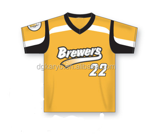Wholesale Custom Design Sublimation Printing Cheap Club Team Baseball Jersey