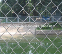 Best price Standard diamond wire mesh fence / chain link fence panel