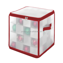 Foldable Christmas Ornament Storage Box , organized storage for up to 48 Christmas ornaments